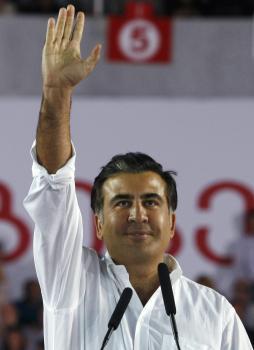 Gruzínsky prezident Michail Saakašvili