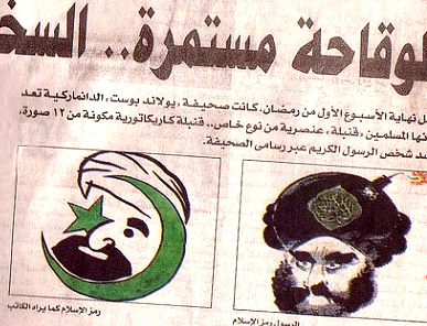 Karikatúry proroka Mohammeda uverejnili aj egyptské noviny