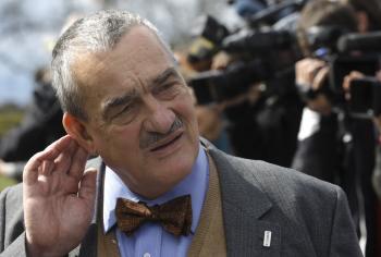 Knieža Karel Schwarzenberg a kandidát na českého prezidenta