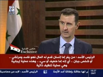 Koncom augusta prehovoril v arabskej televízii Bašir Asad, že armáda sa nebojí výzvy rebelov