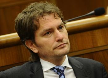 Líder Obyčajných ľudí a nezávislých osobností Igor Matovič