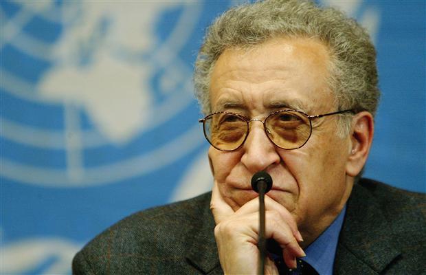 Lachdar Bráhímí, osobitný veľvyslanec OSN pre Sýriu