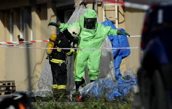 Na Úderníckej ulici v bratislavskej Petržalke v areáli bývalej fabriky Matador došlo k úniku chemických látok