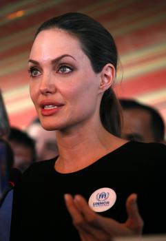 Osobitná vyslankyňa Úradu Vysokého komisára OSN pre utečencov (UNHCR) Angelina Jolieová