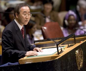 Pan Ki-mun, generálny tajomník OSN