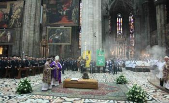 Počas pohrebu čítali list od Benedikta XVI., v ktorom ocenil Martiniho otvorenosť ducha