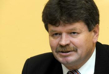 Predseda Odborového zväzu pracovníkov školstva a vedy Pavel Ondek