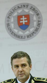 Prezident Policajného zboru SR Tibor Gašpar