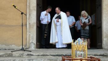 Relikvia svätého Cyrila dorazila do Jelšavy