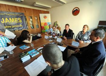 Slovenský horolezecký spolok (SHS) JAMES a Klub slovenských turistov (KST) usporiadali v utorok 11. septembra 2012 mimoriadnu tlačovú konferenciu