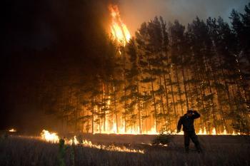 Stredozemná klíma postupuje na sever a s ňou prichádza sucho a požiare