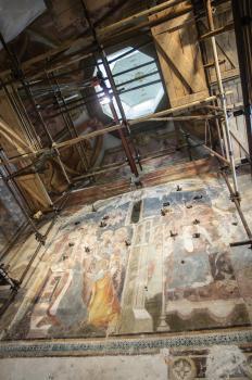 Vzácnu fresku náhodne objavenú pri rekonštrukcii katedrály na Nitrianskom hrade sprístupnia verejnosti