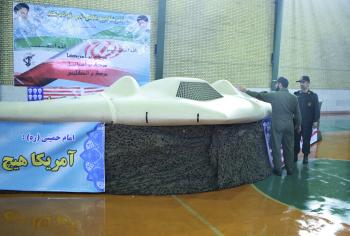 Malé bezpilotné smrtiace. Americké lietadlo na snímke zachytil Irán a začal hneď zhotovovať jeho kópiu