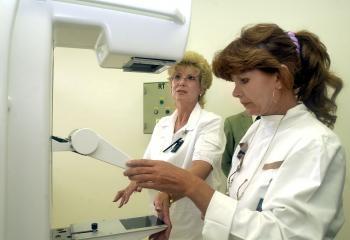 Mamograf na určovanie rakoviny prsníka