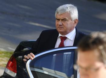 Na snímke minister pôdohospodárstva SR Ľubomír Jahnátek