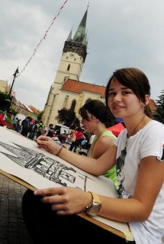 Prešovská pešia zóna hýri životom