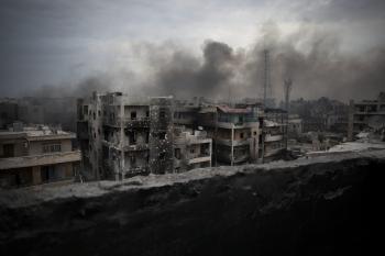 Sýrske Allepo pripomína apokalyptické hollywoodske filmy
