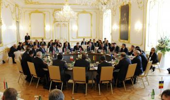 Stretnutie predsedov vlád skupiny Priateľov politiky súdržnosti na Bratislavskom hrade