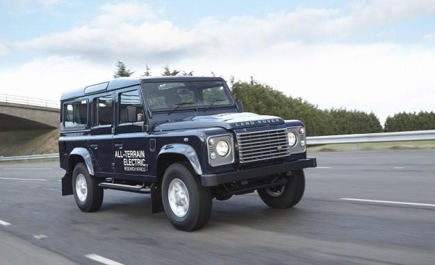 Elektrický Land Rover Defender