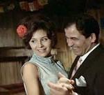 Záber z filmu Medená veža - na snímke Emília Vášaryová a Ivan Rajniak