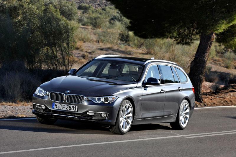 BMW 3 Touring zľava
