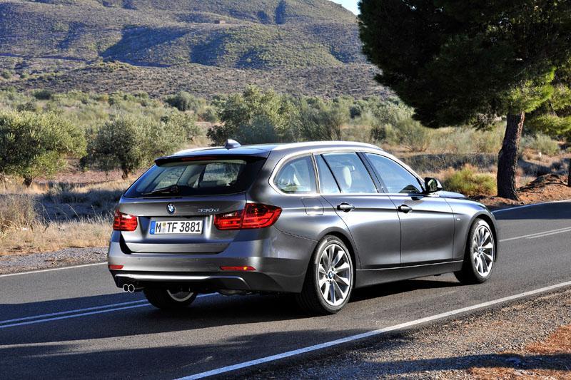 BMW 3 Touring zozadu