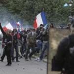 Po demonštrácii došlo aj k potýčkam s políciou