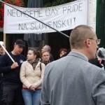 Pochod účastníkov akcie za ochranu manželstva, rodiny a rodičovských práv bratislavskými ulicami