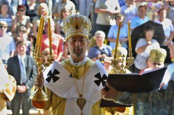 Arcibiskup vladyka Cyril Vasiľ, sekretár Kongregácie pre východné cirkvi v Ríme