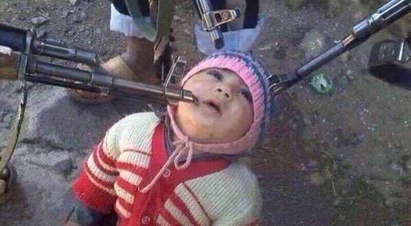 Sýrski rebeli mieria zbraňami na najmladšieho rukojemníka - potomka arménskych kresťanov
