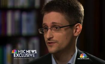 Bývalý spolupracovník amerických tajných služieb Edward Snowden v rozhovore pre americkú NBC News