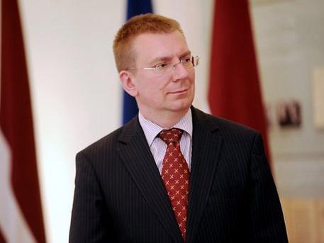 Lotyšský minister zahraničia Edgars Rinkévičs