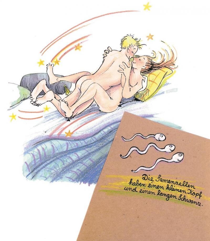 Ukážka z učebnice sexuálnej výchovy na základnej škole v Nemecku