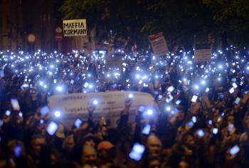 Maďarsko október 2014