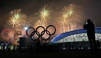 Záverečný ceremoniál XXII. zimných olympijských hier v Soči