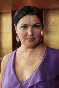 Na snímke operná diva Anna Netrebko
