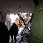 Na snímke situácia v Dombase