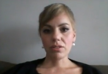 Na snímke Lucia Nosková