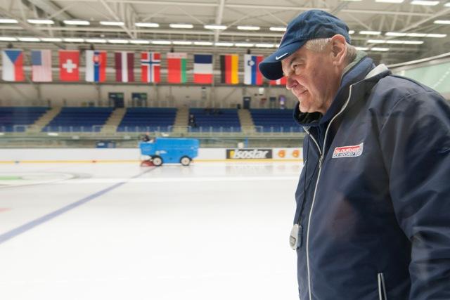 Na snímke tréner Vladimír Vůjtek