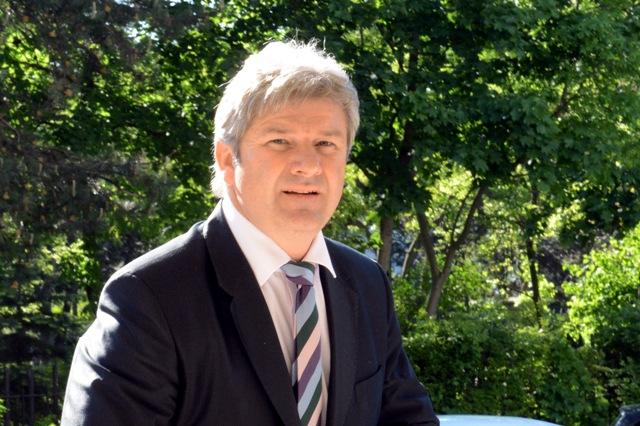 Na snímke predseda Výkonného výboru Fondu národného majetku SR Branislav Bačík