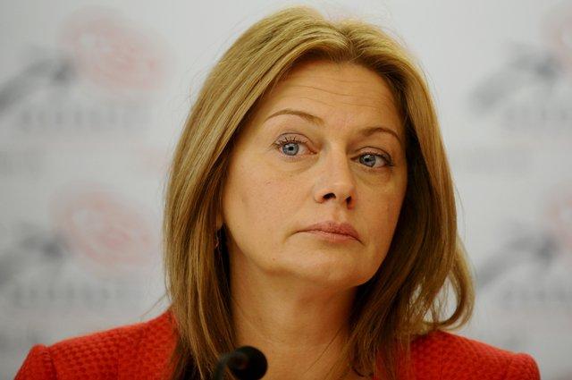 Na snímke europoslankyňa za SMER-SD Monika Flašíková - Beňová