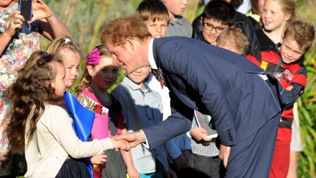 Na snímke britský princ Harry