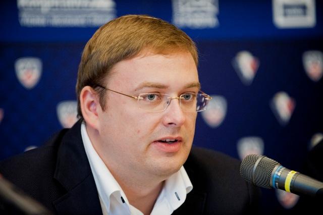 Na snímke výkonný viceprezident Juraj Široký mladší