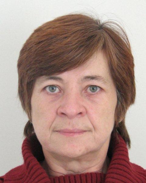 Na snímke nezvestná Jaroslava Zemančíková