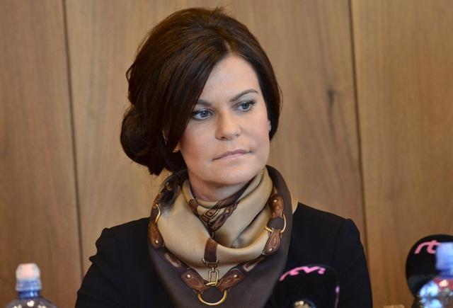 Na snímke kandidátka na predsedu Najvyššieho kontrolného úradu SR Henrieta Crkoňová