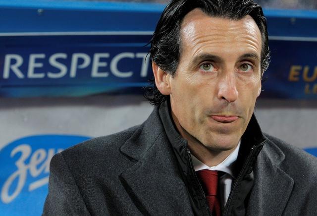 Na snímke tréner FC Sevilla Unai Emery