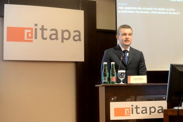 Na snímke predseda Národnej rady SR a digitálny líder SR Peter Pellegrini