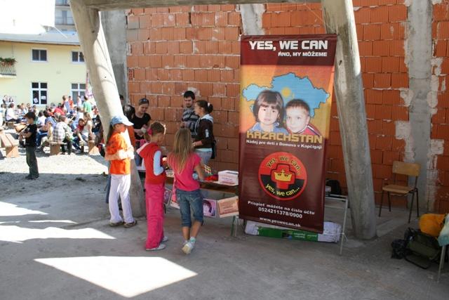 Občianske združenie YES, WE CAN opäť vyhlásilo finančnú zbierku na podporu opustených detí v Kazašskom Kapčigaji