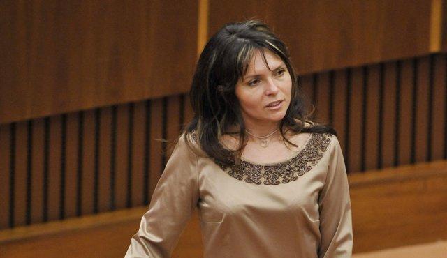 Na snímke poslankyňa Helena Mezenská