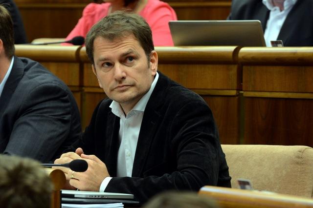 Na snímke poslanec NR SR Igor Matovič - OĽaNO